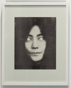 Yoko Ono Mask (1970) by George Maciunas. Source: Jonas Mekas Visual Arts Center