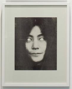 Yoko Ono Mask (1970) by George Maciunas. Source: Jonas Mekas Visual Arts Center