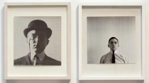 George Maciunas, Self-Portrait, 1961/2012. Installation view. Source: Jonas Mekas Visual Arts Center.