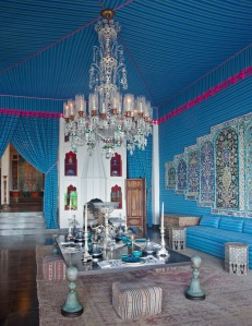 Tim Street-Porter's photo of Doris's dining room at Shangri La (2011) Source: DDFIA