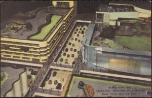 Postcard of the General Motors Futurama, NY 1939 World's Fair. Source: MCNY