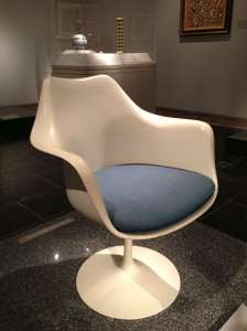 The Saarinen chair at the Met