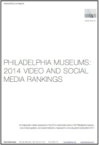 Philadelphia Museum Report Cover 2014