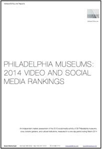 Philadelphia Museum Report Cover 2014
