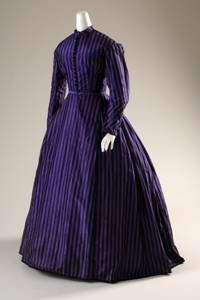 The 1860s color revolution due to analine dyes in commercial fabrics