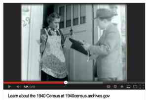 In the Top 2012 Cultural Museum Video, archival footage is cleverly coupled with behind-the-scenes looks at the National Archives' 1940s Census release