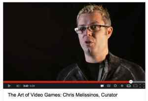 The Smithsonian American Art Museum's Top Exhibition Video of 2012 features curator Chris Melisinos describing why video games belong in an art museum