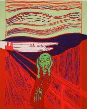 Warhol's 1984 silkscreen, The