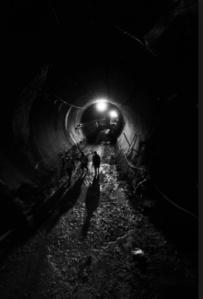 Hiroyuki Suzuki's dramatic black-and-white view of the massive $8.2B project