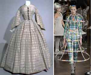 Hoop dreams from 1860 and Thom Browne's Spring 2013 collection