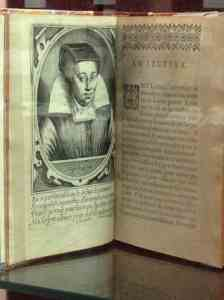 Portrait of Louise Bourgeois Boursier in one of her early 17th-c books on obstetrics, medical must-reads for over 100 years