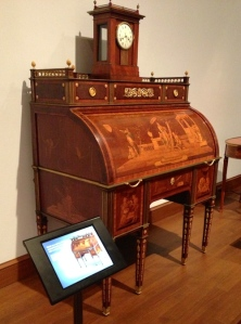 Roentgen's Rolltop Desk also has its own video and has 59,000 YouTube fans of its own