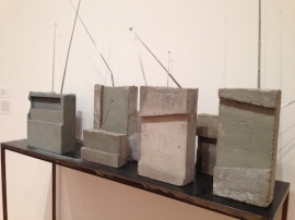 Weltempfänger (World Receiver) (1987–89) mimic the real thing in concrete
