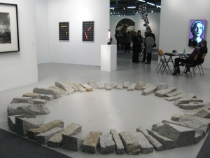 Richard Long's 1994 Merrivale Circle at the Lisson Gallery