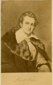 Carte–de–visite of John James Audubon. The legacy lives. Courtesy: NYHS
