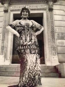 Editta dresses for Bill in Gertrude Vanderbilt Whitney's own Callot Soeurs at the 1904 Harry Payne Whitney House