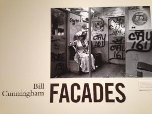 Editta Sherman in period dress on a graffiti-covered subway car to the Brooklyn Botanic Gardens