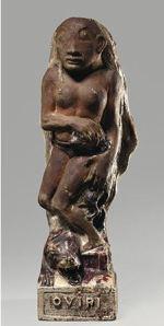 Oviri (Savage). (1894) Partly enameled stoneware, from Musée d'Orsay, Paris. © RMN-Grasnd Palais /Art Resource NY