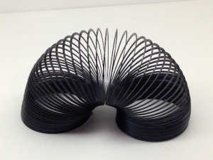 Slinky was designed by Betty and Richard James in 1945