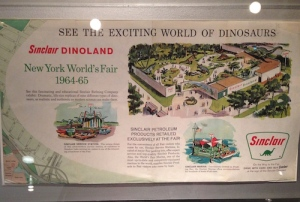 Dinoland brochure from the Queens Historical Society