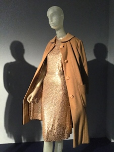 "Norell's 1956 ""Subway"" cashmere silk ensemble."
