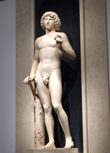 Tullio Lombardo's Adam (1490-1495), which fell and shattered in 2002, but has been exquisitely repaired