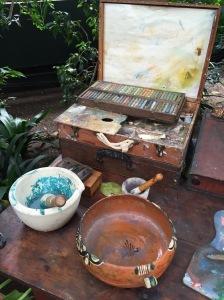 Frida's workspace