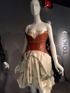 Representing London, Alexander McQueen's 2009 dress and corset
