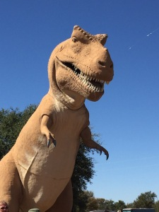 World's Fair T Rex enjoying a quiet life in Texas