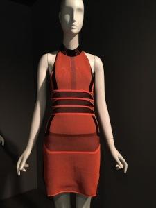 """Alexander Wang's 2015 dress from Nike's """"flyknit"""" sneaker fabric"""