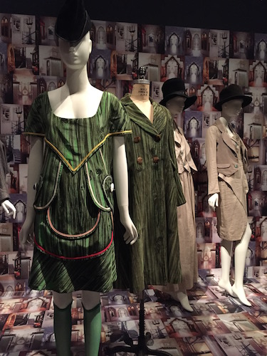 The Eighties -- Vivienne Westwood looks with Galliano linen ensembles