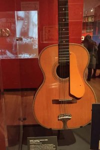 Ledbelly's historic twelve-string guitar