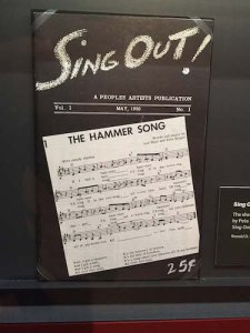 "First edition of ""Sing Out!"" magazine, 1950"