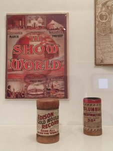Early pop music innovations: sheet music and Edison wax cylinders