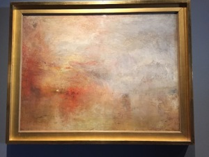 One of five late masterworks by Mr. Turner from the Tate