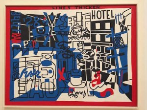 The Paris Bit (1959), a retro Twenties Leger riff. Collection: The Whitney