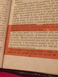 What was he thinking? NYPL highlights the core of Hamilton's Reynolds pamphlet