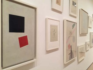 1915-1917 Suprematist works by Kazimir Malevich